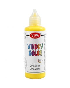 Fönsterfärg, gul, 90 ml/ 1 flaska