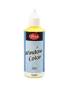Fönsterfärg, gul, 80 ml/ 1 flaska
