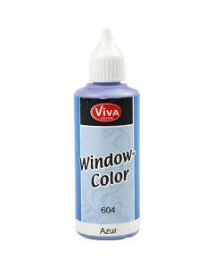 Fönsterfärg, Azure, 80 ml/ 1 flaska