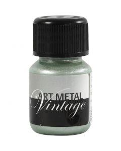 Art Metal färg, pärlgrön, 30 ml/ 1 flaska