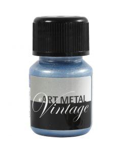 Art Metal färg, pärlblå, 30 ml/ 1 flaska