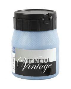 Art Metal färg, pärlblå, 250 ml/ 1 flaska