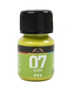 A-Color Glas, kiwi, 30 ml/ 1 flaska