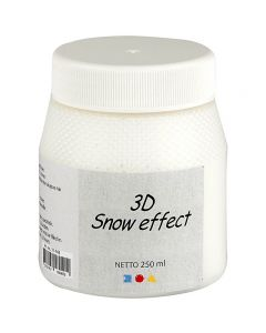Effekt snö, vit, 250 ml/ 1 burk