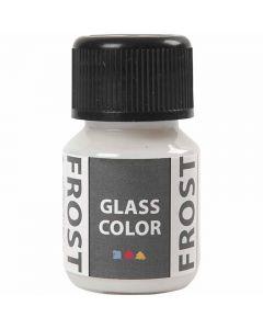 Glasfärg frost, vit, 30 ml/ 1 flaska