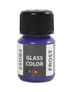 Glasfärg frost, violet, 30 ml/ 1 flaska