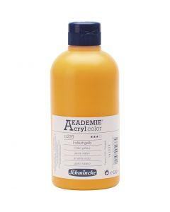 Schmincke AKADEMIE® Acryl color , transparent, indian yellow (226), 500 ml/ 1 flaska