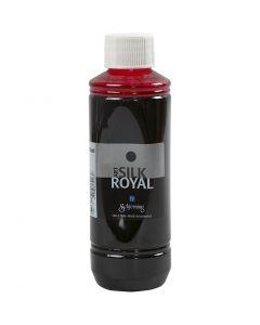 Sidenfärg, Royal, rosa, 250 ml/ 1 flaska