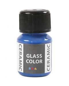 Glass Ceramic, briljantblå, 35 ml/ 1 flaska