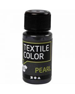 Textile Color, pärlemor, grå, 50 ml/ 1 flaska