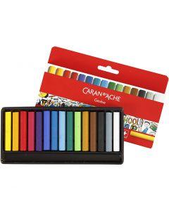Neocolor I, L: 5 cm, tjocklek 8 mm, mixade färger, 15 st./ 1 förp.