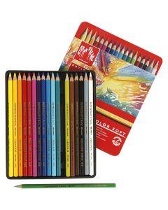 Supracolor ll, L: 17 cm, mixade färger, 18 st./ 1 förp.