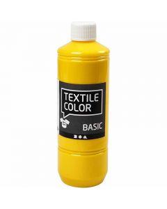 Textile Color textilfärg, primärgul, 500 ml/ 1 flaska
