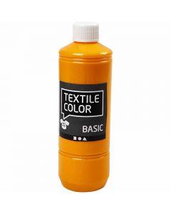 Textile Color textilfärg, gul, 500 ml/ 1 flaska