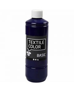 Textile Color textilfärg, briljantblå, 500 ml/ 1 flaska