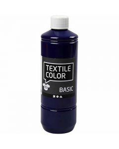 Textile Color textilfärg, briljantblå, 500 ml/ 1 flaska