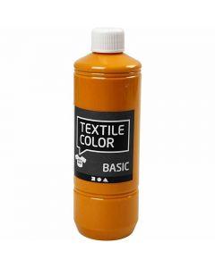 Textile Color textilfärg, senapsgul, 500 ml/ 1 flaska