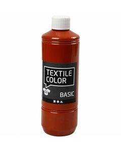 Textile Color textilfärg, tegel, 500 ml/ 1 flaska