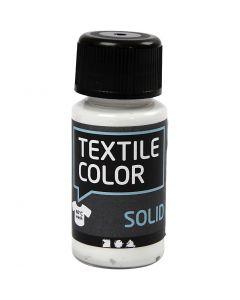 Textile Solid textilfärg, täckande, vit, 50 ml/ 1 flaska