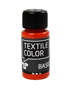 Textile Color textilfärg, orange, 50 ml/ 1 flaska
