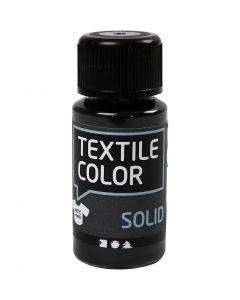 Textile Solid textilfärg, täckande, svart, 50 ml/ 1 flaska