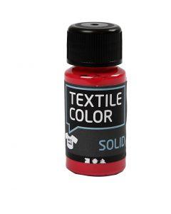 Textile Solid textilfärg, täckande, röd, 50 ml/ 1 flaska