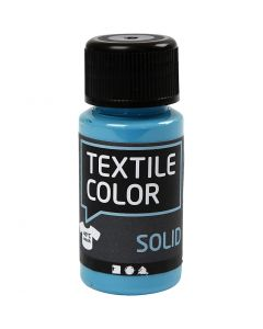 Textile Solid textilfärg, täckande, turkosblå, 50 ml/ 1 flaska