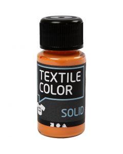 Textile Solid textilfärg, täckande, orange, 50 ml/ 1 flaska
