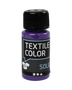 Textile Solid textilfärg, täckande, lila, 50 ml/ 1 flaska