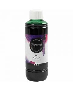 Flytande akvarellfärg, grön, 250 ml/ 1 flaska