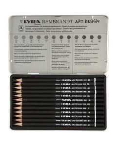 Lyra Art Design byertspennor, 12 st./ 1 förp.