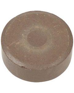 Vattenfärg, H: 19 mm, Dia. 57 mm, brun, 6 st./ 1 förp.