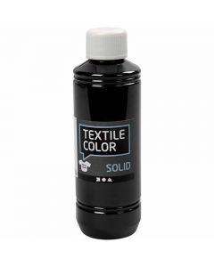 Textile Solid textilfärg, täckande, svart, 250 ml/ 1 flaska