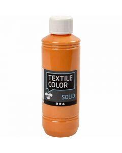 Textile Solid textilfärg, täckande, orange, 250 ml/ 1 flaska