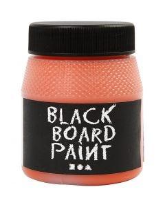 Tavelfärg, orange, 250 ml/ 1 förp.