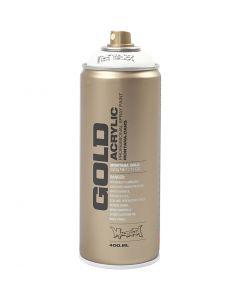 Sprayfärg, vit, 400 ml/ 1 burk