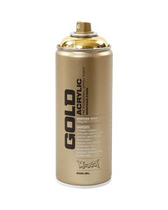 Sprayfärg, guld, 400 ml/ 1 burk