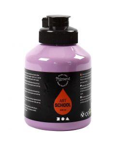 Pigment Art School, täckande, lila, 500 ml/ 1 flaska