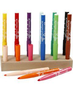 Visa Color tusch, spets 3 mm, mixade färger, 12 st./ 1 förp.