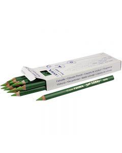 Lyra Super Ferby 1 färgpennor, L: 18 cm, kärna 6,25 mm, ljusgrön, 12 st./ 1 förp.
