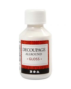 Decoupagelack, blank, 100 ml/ 1 flaska