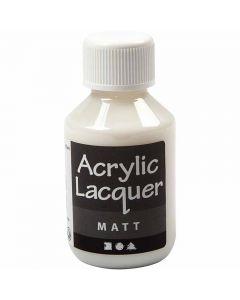 Akryllack, matt, 100 ml/ 1 flaska