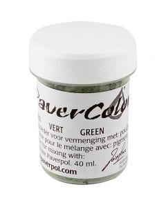 Paver Color, grön, 40 ml/ 1 flaska