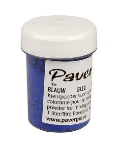 Paver Color, blå, 40 ml/ 1 flaska