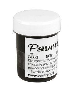 Paver Color, svart, 40 ml/ 1 burk