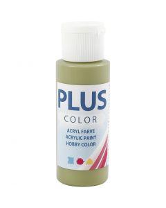 Plus Color hobbyfärg, eucalyptus, 60 ml/ 1 flaska