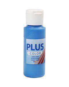 Plus Color hobbyfärg, primärblå, 60 ml/ 1 flaska