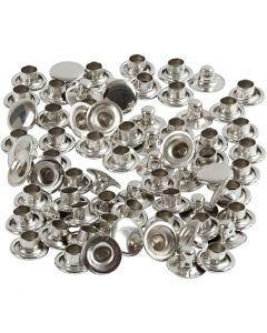 Nitar, Dia. 7 mm, silver, 50 st./ 1 förp.