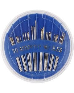 Synålar, nr. 3-7, L: 35-45 mm, 30 st./ 1 förp.