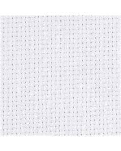 Aidatyg, B: 150 cm, 70 rutor per 10 cm, vit, 3 m/ 1 st.